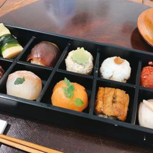 可愛い♪ フォトジェニックなつまみ寿司の花梓侘(かしわい)でランチ(京都・北大路)