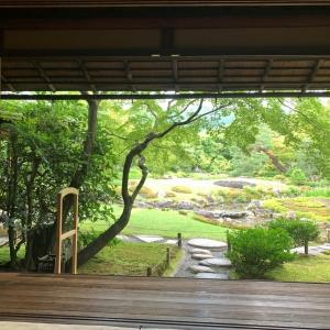 【京都】無鄰菴庭園で、静謐な時間に癒やされて…