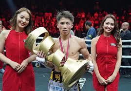 ボクシング 井上尚弥選手 おめでとうございます ♫♫♫