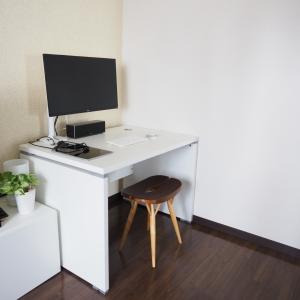オフィス家具を自宅で使ったらこうなった。