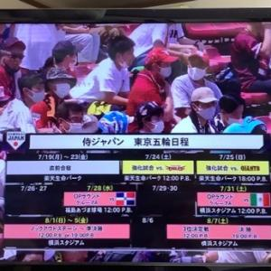 侍ジャパン強化試合7/24
