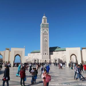 『ハッサン2世モスク -後編-』内部の見学ツアーに参加