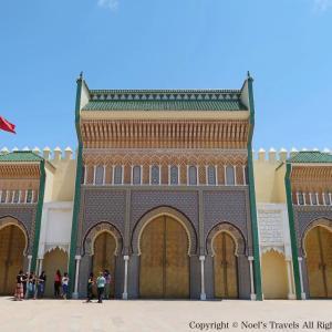 モロッコの古都『フェズ』王宮の門と展望台からの景色