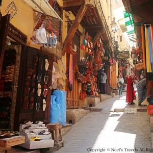 迷宮都市『フェズ』の旧市街で非日常に迷い込んだ