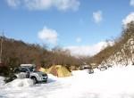 【広島近隣のキャンプ場 | 冬キャンプ・雪中キャンプ】