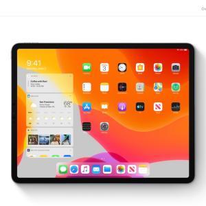 iPadが。
