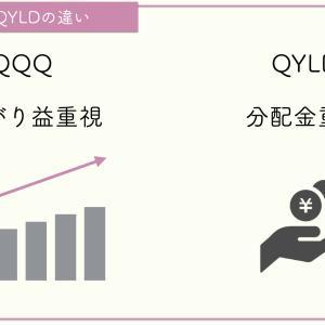 【QQQと比較】QYLDとは何ぞや?NASDAQ100×コールオプションの毎月分配型のETF
