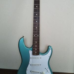 ギター購入(ストラトキャスター、ZST-M10R)