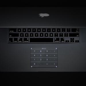 MacBookProに貼り付けて使える、おしゃれなテンキー「Nums」