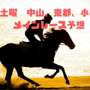 土曜3会場のメインレース予想 海の中道特別、舞鶴S、白富士S