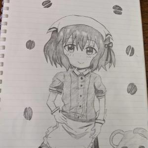 星川麻冬ちゃんを描きました!