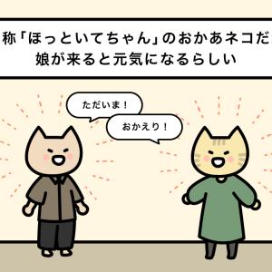 【4コマ漫画】かまってちゃん3 / ねこくろにっき190話 / siz