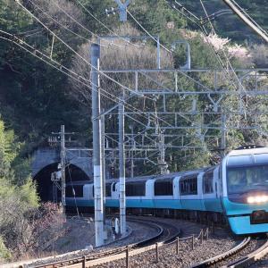 消えゆく東海道線の車両を追って撮影してきた。