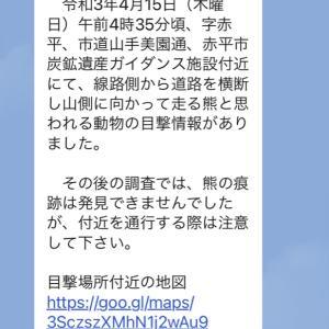 【赤平生活】2021年、今年夏までのヒグマ in 北海道赤平市