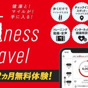 【そして】JAL Wellness & Travel 7ヵ月間の実績【100万哩へ】