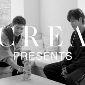 「CREA」メイキング動画公開