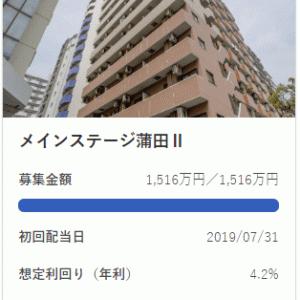 CREAL :メインステージ蒲田Ⅱはもちろん満額成立です