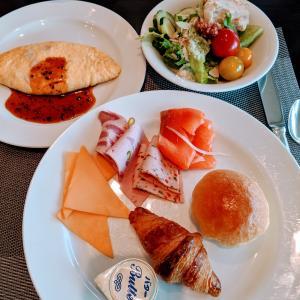 ザ・プリンス・パークタワー東京朝食と東京タワー