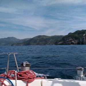 GW③妻良から新島へ