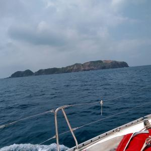 GW⑤新島から妻良へ