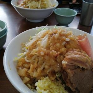 【ラーメン初め】極肉麺たいしでみやむ~のニンニクあぶらそば