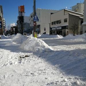 今年の八戸は雪が本当にヤバい