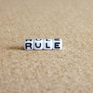 ルールを守れない方は、なんでもダメな方向へ向かい出す