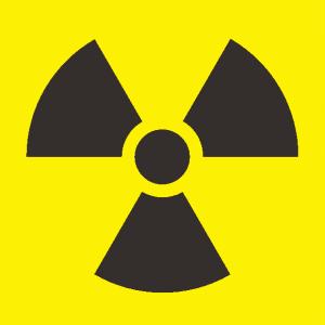 放射能マークのイラスト