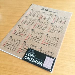 *《セリア》新商品♡貼るだけでオサレ〜A3コルクカレンダー
