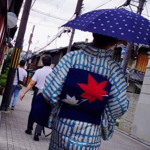 ZEISSの空気128. 梅雨の晴れ間の散歩道6. ない!、ない!、ない!、の京都