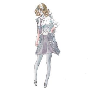 ドローイング250. 小説:小樽の翆181. 明菜姉ちゃん初・・・