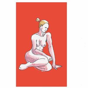 ドローイング254. 小説:小樽の翆185. 文さんの枕話