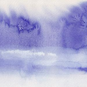 ドローイング365. 小説:小樽の翆294. 禁欲の色