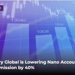 Axiory(アキシオリー)のNano口座では、取引手数料を40%割引しました!