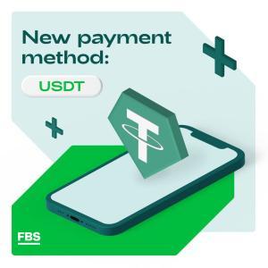 FBSが、入金方法に米ドルテザー「USDT」を追加!わずか1ドルから利用できます。