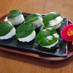 椿餅・桜餅&移住12周年