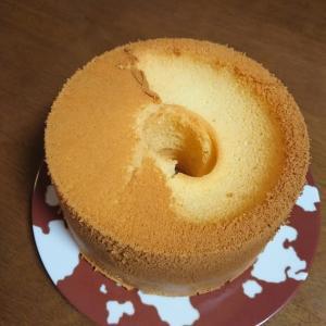 シフォンケーキ修行始めました