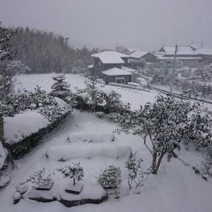 五島に大雪警報!