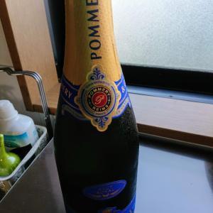 久しぶりのシャンパンだー☆