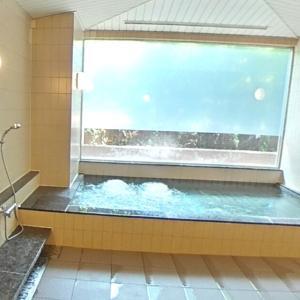 ホッ!とさせる大浴場。実感させる単身赴任生活の快適さ