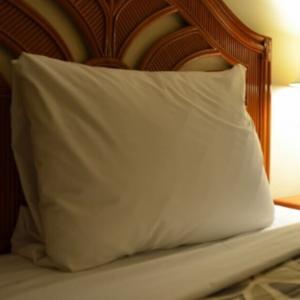 ベッドと布団と1杯の梅酒も単身赴任中の快眠に良いアイテムかも