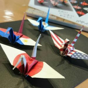 【おりづる】オリンピックに最適な折り紙!国旗、富嶽三十六景、組市松文様