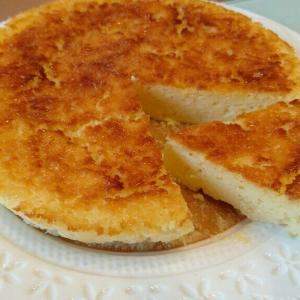 【お手軽レシピ】クリームチーズなし!水切りなし!ヨーグルトで作るチーズケーキ