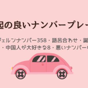 【希望のナンバープレート】10年ぶりに車を購入!縁起の良いナンバーとは!?