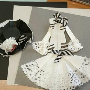 折り紙ドレス【マイ・フェア・レディ】