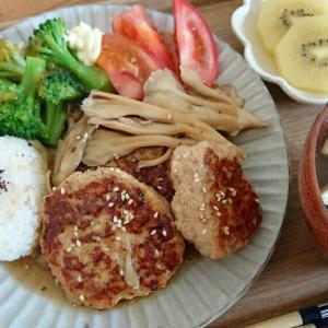 【レシピ】低糖質でヘルシー!ふわふわ豆腐入り鶏つくねの和風舞茸ソース