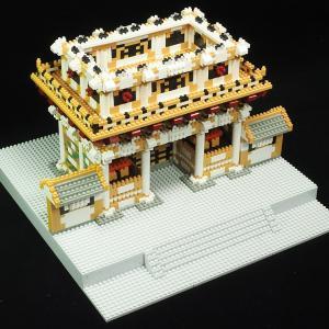 第47号 陽明門 天井と柱と壁をつくる