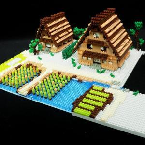 第61回 白川郷(土台と稲と屋根をつくる)