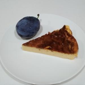 簡単手作りおやつ バスク風チーズケーキ