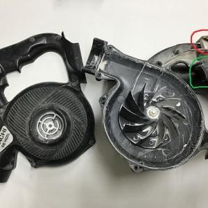 (DIY)壊れたブロアーを貰ったんで修理してみた(HIKOKI)